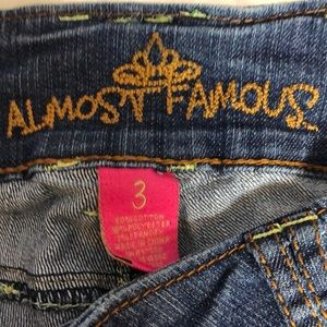 Almost Famous Shorts - Almost Famous Distressed Jean Shorts.
